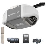 Chamberlain - Chamberlain Smartphone Controlled Durable Chain Drive Garage Door Opener - With MED Lifting Power