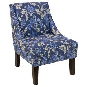 Brooke Tight Back Club Chair Mediterranean Armchairs