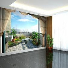 Balcony Murals for Niches
