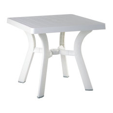 Compamia Viva Outdoor Dining Table, White