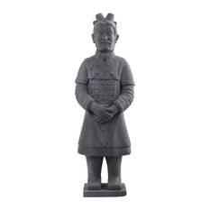 Nearly Natural, Inc.   40 Warrior Statue   Garden Statues And Yard Art