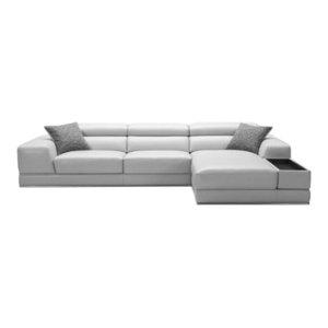 Urbanmod Sectional Sofa, Light Gray
