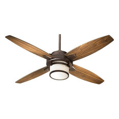 50 most popular contemporary ceiling fans for 2018 houzz quorum oiled bronze 52 ceiling fan with light kit and wall control ceiling aloadofball Images