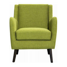 New Pacific Direct Inc. - Thea Arm Chair, State Green - Armchairs and Accent Chairs