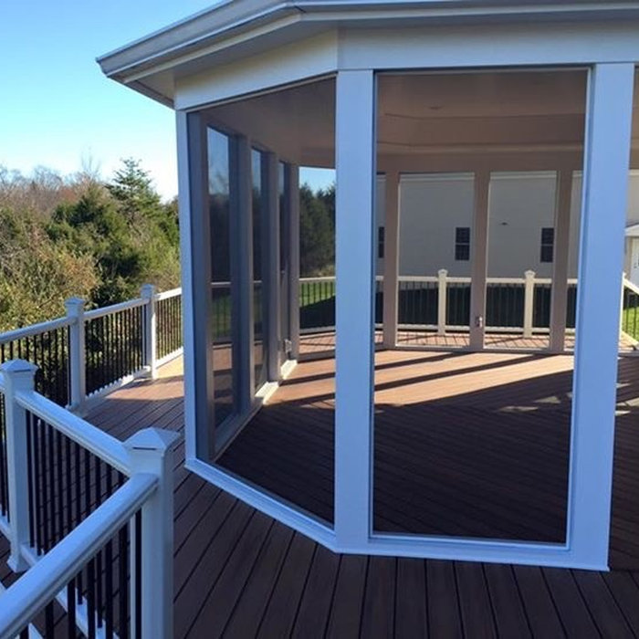 Screen Porch / Wood Deck Addition
