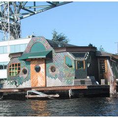 Lake Union Houseboat