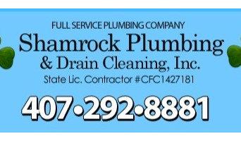 Shamrock Plumbing & Drain Cleaning, Inc.
