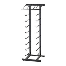 27-Bottle Point of Purchase Metal Wine Rack, Satin Black
