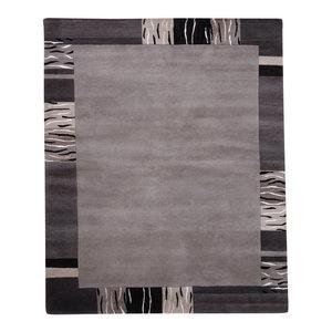 Impression 39405 Rug, Beige Grey and Black, 70x140 cm