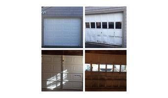 Garage door replaced