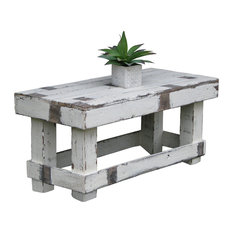 Doug And Cristy Designs   White Farmhouse Coffee Table   Coffee Tables