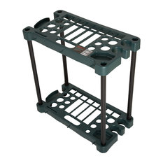 Stalwart Compact Garden Tool Storage Rack, Fits Over 30 Tools