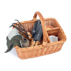 Arbor Willow Garden Caddy and Tools