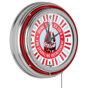 Coke Dart Cabinet Set With Darts And Board Contemporary Darts And Dartboards By Trademark Global