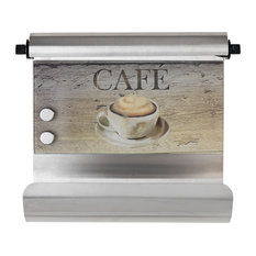 Magnetic Kitchen Roll Holder, Café
