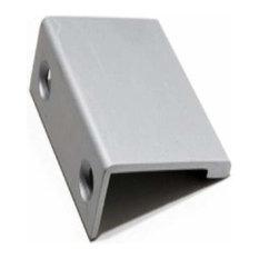 Aluminum Richelieu New Inspiration Contemporary Aluminum Edge Pull 1-31//32 cc BP46037010