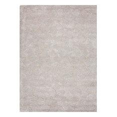 jaipur living jaipur handtufted toneontone wool art silk