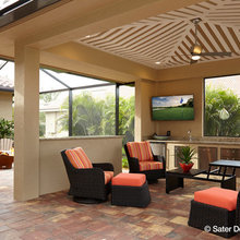 Outdoor Kitchens and Entertainment Areas - The Sater Design Collection
