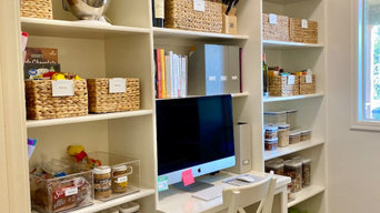 Walk-In Pantry Organize