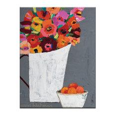 Orange Bowl, Canvas Print