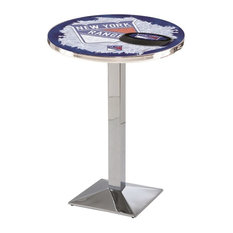 New York Rangers Pub Table 28-inchx36-inch by Holland Bar Stool Company