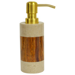 Fabulous Transitional Soap u Lotion Dispensers by Rembrandt Home