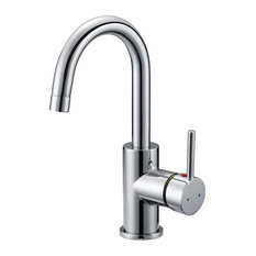 Design House Design House Eastport Single Handle Kitchen Faucet Polished Chrome Finish Kitchen Faucets