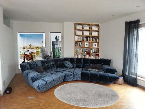 Unglücklich Mit Neuem Sofa Bretz Cloud 7 In Großem Wohnzimmer