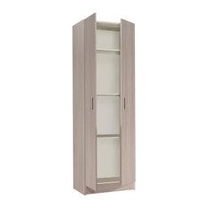 Vita Multi-use Oak 2 Door Wardrobe