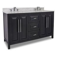 """Lyn Design VAN101D-60-T 60"""" Double Vanity with Top"""