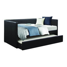 Homelegance Adra Daybed With Trundle in Black