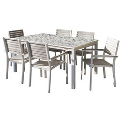 Contemporary Outdoor Dining Sets by Oxford Garden