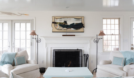 Houzz Tour: A Crisp, Clean Summer Cottage on Nantucket