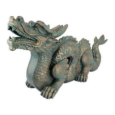 Large Asian Dragon of The Great Wall