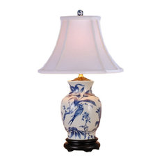 50 most popular porcelain table lamps for 2018 houzz east enterprises inc branches porcelain table lamp blue and white table lamps aloadofball Image collections