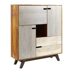 Watson Trio Cabinet With Display Shelf