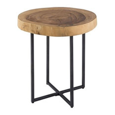 INK+IVY Arcadia Naturale End Table Natural