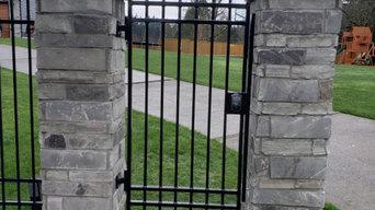 Aluminum man gate