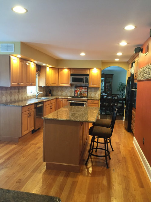 Any Ideas How To Camouflage Kitchen Cabinets Soffits
