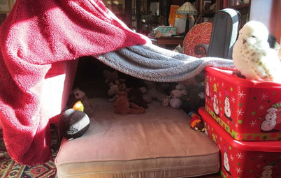 Houzz Call: Show Us Your Household's Pillow Fort