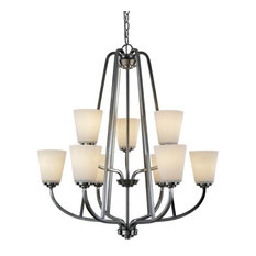 Artcraft Lighting AC10469 Hudson 9 Light Chandelier