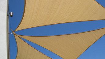 shade sails combinaison