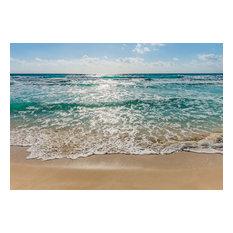 Seaside Beach Photo Wall Mural, 368x254 cm
