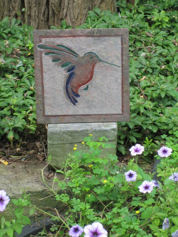 Art in the Garden- Hummingbird