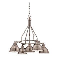 Antique nickel chandeliers houzz craftmade jeremiah lighting 35925 an timarron chandelier antique nickel chandeliers aloadofball Gallery