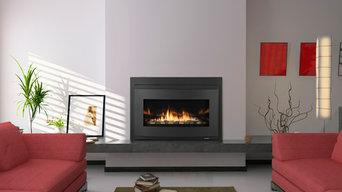 Design Ideas featuring Heat & Glo Fireplaces