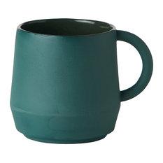 Unison Ceramic Cup, Teal