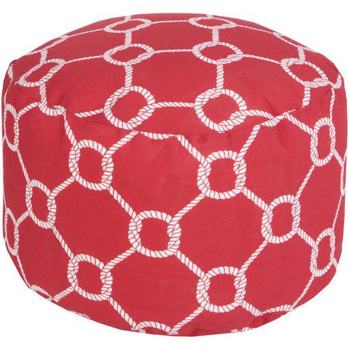 Surya Poufs- (POUF-301) - Floor Pillows And Poufs