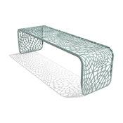 "Arktura Coral Bench 60"", Sea Green"