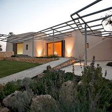 Houzz Tour: Bæredygtig landvilla i Sicilien hylder minimalistismen